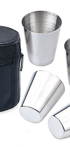 cheap -Drinkware Daily Drinkware / Novelty Drinkware / Tea Cup Faux Leather / Stainless Steel For Outdoor Sporting / Travel Special Occasion / Sports & Outdoor / Leisure Sports / Coffee