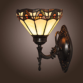 abordables Lampe Tiffany-KERR - Lampe Murale Tiffany - 1 slot à ampoule