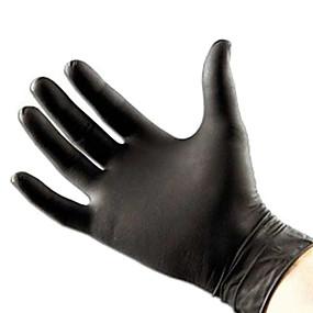 저렴한 타투 트랜스퍼 & 용품-100 PC의 고품질 문신& 바디 아트 블랙 일회용 문신 라텍스 장갑 사용할 수있는 크기 액세서리
