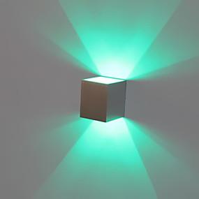 billige Vegglamper-BriLight Moderne / Nutidig Entré Metall Vegglampe 1W