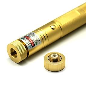 رخيصةأون مؤشرات ليزر-على شكل مصباح يدوي مؤشر الليزر 532 Aluminum Alloy