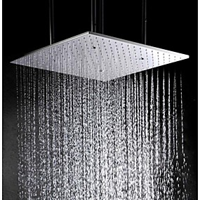 cheap Money Off-20 Inch Stainless Steel 304 Ceiling Mounted Bathroom Shower Head With Atomizing And Rainfall Two Water Functions