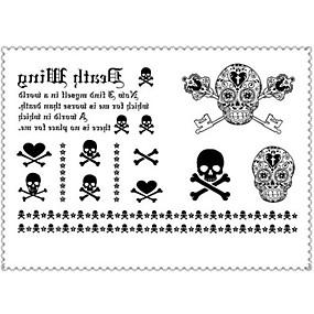 cheap Temporary Tattoos-1 pcs Temporary Tattoos Special Design / Disposable Body / brachium / Leg Water-Transfer Sticker Tattoo Stickers