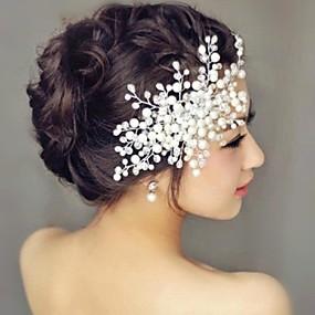 povoljno Dodaci za kosu-biser kosa češlja headpiece vjenčanje party elegantan ženski stil
