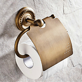 cheap Toilet Paper Holders-Toilet Paper Holder Antique Brass 1 pc - Hotel bath