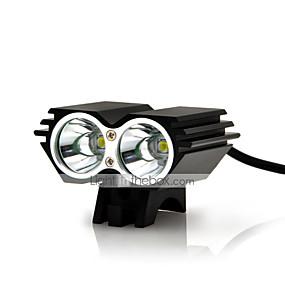 billige Sykkellykter og reflekser-Sykkellykter / sikkerhet lys LED LED Sykling Vanntett, Nedslags Resistent, Oppladbar 18650 / AAA 5000 lm Batteri Dagligdags Brug / Sykling / Kjøring