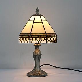 billige Tiffany Lamper-Flerskjerms Tiffany / Rustikk / Hytte / Original Bordlampe Harpiks Vegglampe 110-120V / 220-240V 25W