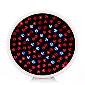 billige LED Økende Lamper-1pc 2.5 W Voksende lyspære 800-850 lm E26 / E27 102 LED perler SMD 2835 Rød Blå 85-265 V / 1 stk. / RoHs / FCC