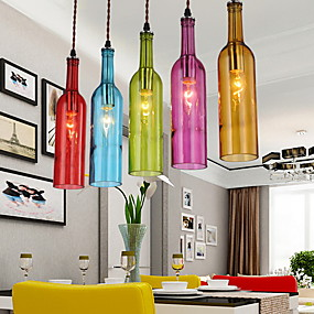 billige Hengelamper-Anheng Lys Omgivelseslys Glass Glass LED 110-120V / 220-240V Pære ikke Inkludert / E26 / E27