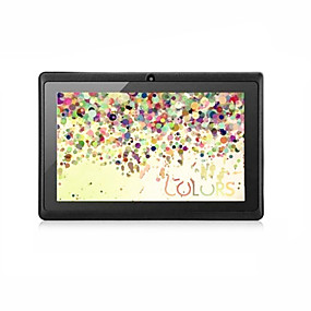 billige Tabletter-7 tommers Android tablet (Android 4.4 1024 x 600 Kvadro-Kjerne 512MB+8GB) / 32 / Mini USB / Tf Kort Spor / IPS