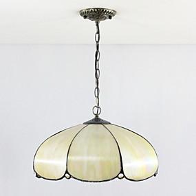 abordables Lampe Tiffany-4 lumières Lampe suspendue Lumière dirigée vers le bas - Style mini, 110-120V / 220-240V Ampoule non incluse / 20-30㎡ / E26 / E27
