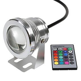Недорогие Прожекторы-Подводное освещение Водонепроницаемый / Дистанционно управляемый / На пульте управления RGB 12 V Светодиодные бусины