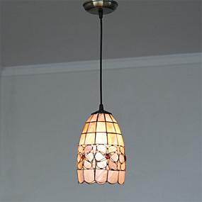 abordables Lampe Tiffany-Lampe suspendue Lumière dirigée vers le bas Autres Métal Coquille Style mini 110-120V / 220-240V Ampoule non incluse / E26 / E27