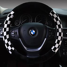 povoljno Dodaci za unutrašnjost auta-Prekrivači za upravljač Pliš 38cm Braon / Obala / Red Za Univerzális