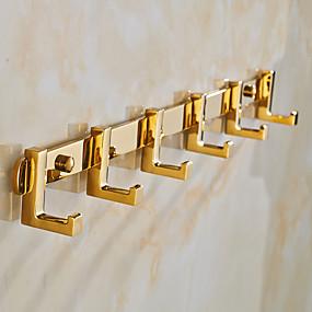 cheap Bath Fixtures-Robe Hook Neoclassical Brass / Zinc Alloy 1 pc - Hotel bath