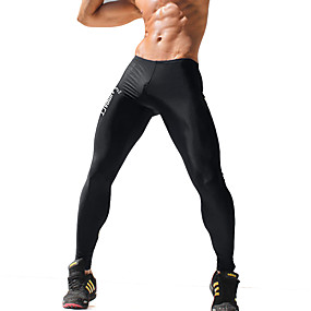 cheap Under $13.99-Men's Active Skinny Skinny / Active / Slim Pants - Print / Letter Black / Sports / Weekend