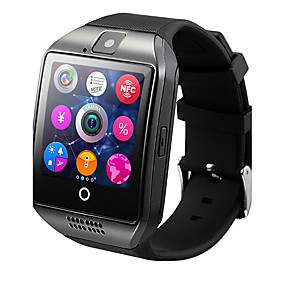 cheap Valentine's Day-Q18 Smartwatch Android iOS 3G Bluetooth 2G Waterproof Heart Rate Monitor Hands-Free Calls Video Timer Stopwatch Sleep Tracker Find My Device Alarm Clock / Community Share / 128MB / Camera