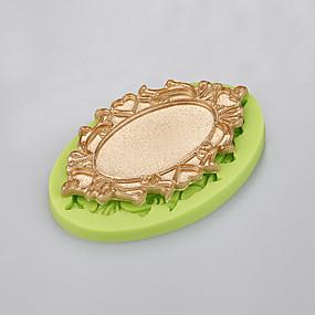 levne Formy na dorty-Silikon Šetrný vůči životnímu prostředí Nepřilnavý Ucha / Úchytky Dorty Sušenky Cupcake Pečivo Nástroje na pečení