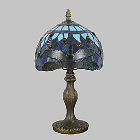 billige Bordlamper-Flerskjerms Tiffany / Rustikk / Hytte / Moderne / Nutidig Skrivebordslampe Harpiks Vegglampe 110-120V / 220-240V 25W