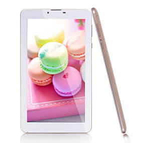 billige Tabletter-7 tommers phablet (Android 5.1 1024 x 600 Kvadro-Kjerne 1GB+16GB) / 32 / TFT / SIM-kort Slot / Tf Kort Spor / Hodetelefon Jack 3.5Mm
