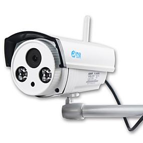 رخيصةأون كاميرات IP-jooan® كاميرا IP لاسلكية 1MP تسجيل الصوت 720p الأمن اللاسلكي المدمج في بطاقة TF 16GB الصغيرة