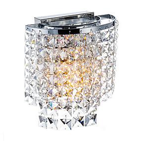 billige Krystall Vegglys-SL® Moderne / Nutidig Vegglamper Metall Vegglampe 110-120V / 220-240V 40W