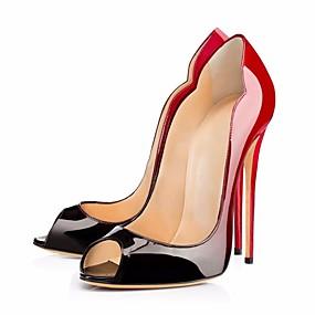 3539bf3806982 abordables Chaussures Grande Taille-Femme Polyuréthane Printemps   Eté    Automne Chaussures à Talons Talon