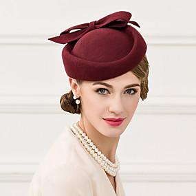 abordables Kentucky Derby Hat-Laine Chapeau Casque