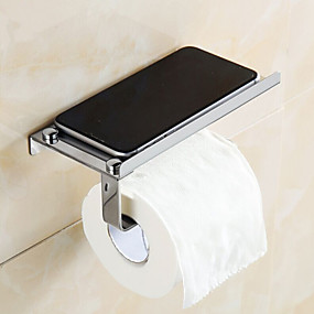 cheap Bath Fixtures-Toilet Paper Holder Contemporary Stainless Steel 1 pc - Hotel bath