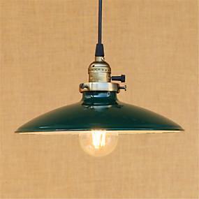 billige Hengelamper-Bowl Anheng Lys Nedlys Malte Finishes Metall Mini Stil, LED, designere 110-120V / 220-240V Pære Inkludert / E26 / E27