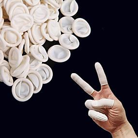 billige Kjøkkenrengjøringsmidler-50pcs finger cots finger håndbeskytter latex hanske