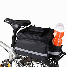abordables Bolsas Maletero-WEST BIKING® 20 L Bolsa Maletero / Bolsa Lateral Bolsas Maletero Ajustable Gran Capacidad Impermeable Bolsa para Bicicleta Nailon Bolsa para Bicicleta Bolsa de Ciclismo Ciclismo / Bicicleta