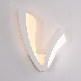 cheap Kids' Room-Modern 10W LED Wall Lights,Simplicity Style Acrylic Lighting Living Room Hallway Bedroom Hotel Rooms Bedside Lamp