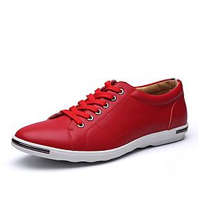 baratos Tênis Masculino-Homens Sapatos Confortáveis Microfibra Primavera / Outono Casual Tênis Preto / Branco / Amarelo / Casamento / Festas & Noite / Combinação / Festas & Noite / Fashion Boots
