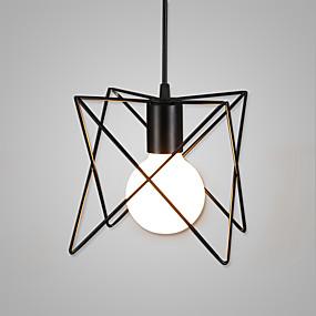 abordables Plafonniers-Lampe suspendue Lumière d'ambiance Finitions Peintes Métal Style mini 110-120V / 220-240V Ampoule non incluse / LED Intégré / E26 / E27