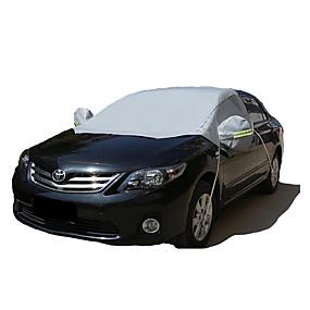 billige Bildækkener-Semi-dækning Bilomslag Reflekterende Til Universel Alle Modeller for Alle årstider