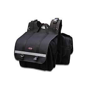 povoljno Prtljaga i torbe za motor-vrećica torbica za motocikle 2 torbe za torbe za vrećicu za honda / yamaha / suzuki (crna& siva boja)