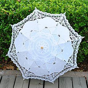 """levne Deštníky-rovná rukojeť Svatební Zvláštní příležitosti Plážové Deštník Deštníky 68 cm (cca 26,8"""")"""