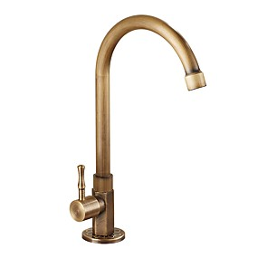 cheap Kitchen Faucets-Kitchen faucet Antique Brass Vessel Antique Kitchen Taps