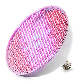 billige LED Økende Lamper-1pc 30 W Voksende lyspære 14400-16000M E26 / E27 800 LED perler SMD 2835 Rød Blå 85-265 V / 1 stk. / RoHs / FCC