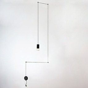abordables Plafonniers-Lampe suspendue Lumière d'ambiance Finitions Peintes Métal Mat, Style mini, Ampoule incluse 110-120V / 220-240V Ampoule incluse / LED Intégré