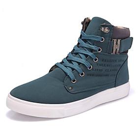economico Sneakers da uomo-Per uomo Scarpe comfort PU Primavera / Autunno Sneakers Footing Nero / Verde / Bianco / nero / All'aperto / Suole leggere / EU40