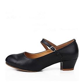 bb112e96225 Dámské Boty na moderní tance Kůže Podpatky Na zakázku Obyčejné Taneční boty  Černá