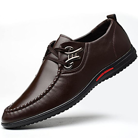 db72ff4c1502 Men s Formal Shoes PU(Polyurethane) Fall   Winter Oxfords Black   Brown    Blue   Party   Evening   Rivet   Party   Evening