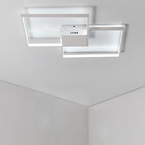tanie Mocowanie przysufitowe-2 światła Podtynkowy Światło rozproszone Malowane wykończenia Aluminium Matowy, Wiele tonów, Zawiera żarówkę 110-120V / 220-240V Ciepła biel / Chłodna biel Źródło światła LED w zestawie