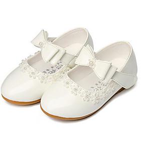 abordables Chaussures pour Fille-chaussures pour filles printemps / automne, fille de fleur, chaussures de sport blanches / noires / rouges