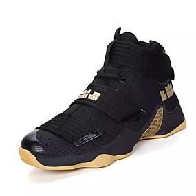 baratos Sapatos Esportivos Masculinos-Homens Sapatos Confortáveis Couro Ecológico Outono / Inverno Tênis Caminhada Preto / Branco / Amarelo / Cadarço