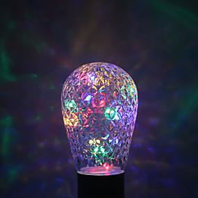 billige Globepærer med LED-YWXLIGHT® 1pc 1W 100-200lm E27 LED-globepærer 16 LED perler Varm hvit Grønn Blå Rød 85-265V