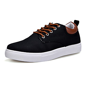 cheap Men's Sneakers-Men's Comfort Shoes Canvas Spring / Fall Casual Sneakers Red / Blue / Khaki / Outdoor / EU40