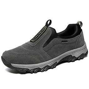 baratos Sapatilhas e Mocassins Masculinos-Homens Sapatos Confortáveis Couro Sintético / Pele Inverno Mocassins e Slip-Ons Preto / Azul / Cinzento / Fashion Boots